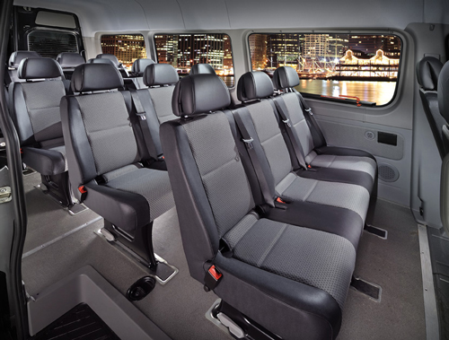 The Aesthetic Of A Mercedes Sprinter Fleet Arriving At An Event Or Wedding Is Unparrelled Each Standard Van Holds Up To 14 Passengers In Rows