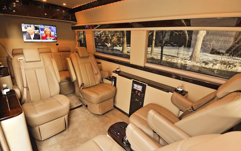 The Brilliant Van   Mercedes Sprinter Van For VIP ...