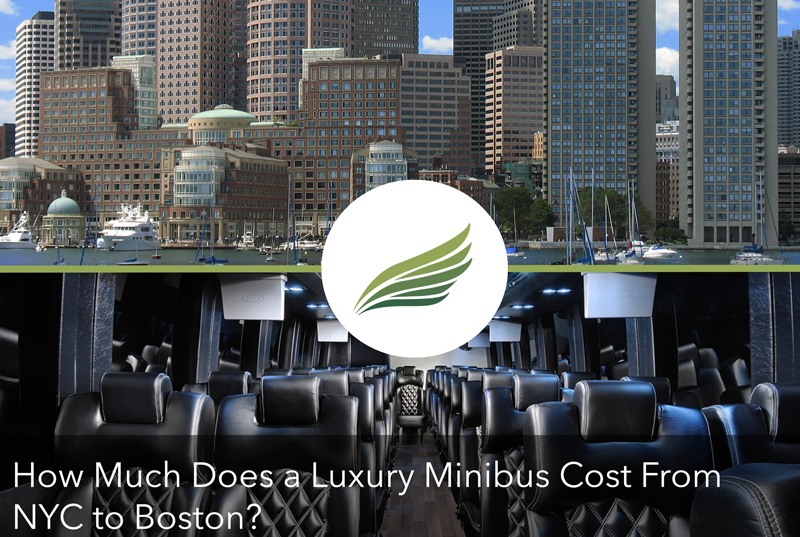 How Much Does a Luxury Minibus Cost From NYC to Boston?