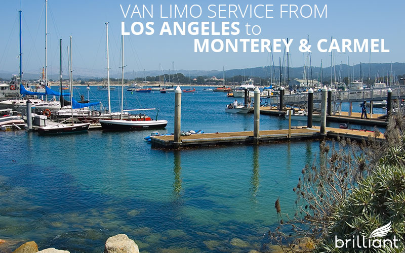 price of limo van service from los angeles to monterey  carmel