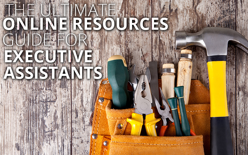 online resources for executive assistants