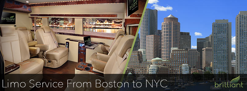 Limo Service From Boston to NYC