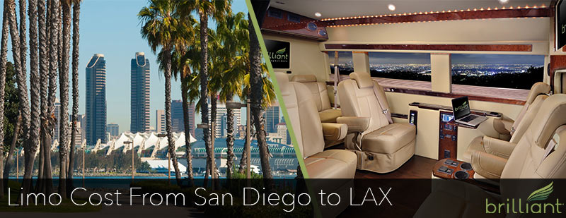 Limo Cost From San Diego to LAX