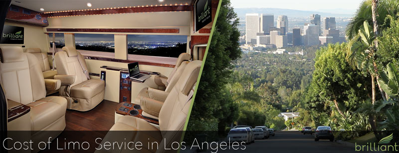 Cost of Limo Service in Los Angeles