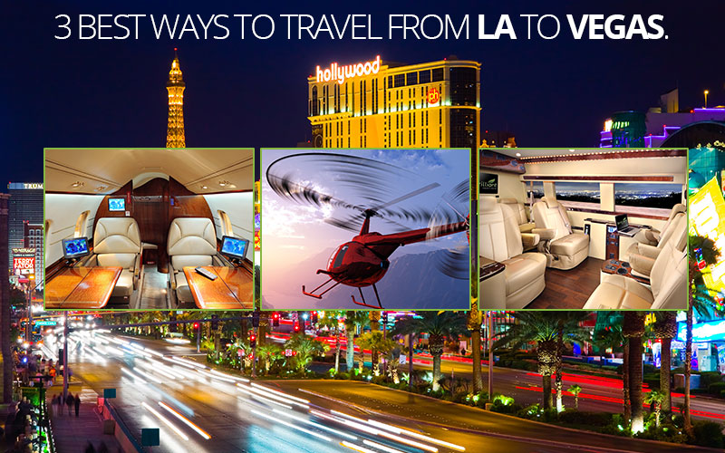 best ways to travel from la to vegas