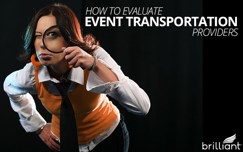 how to evaluate event transportation companies