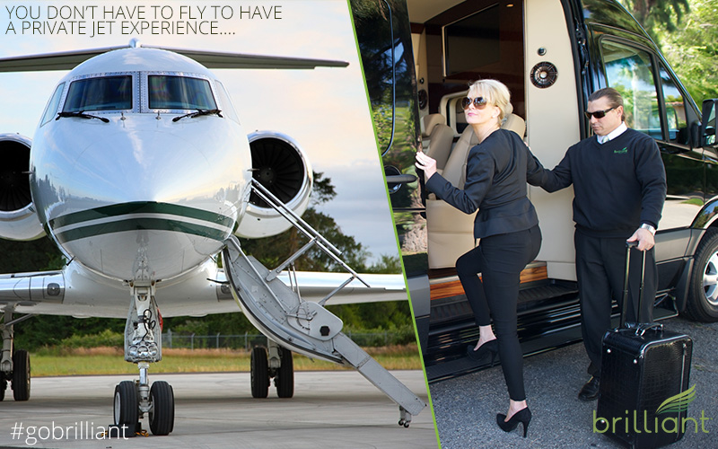 private jet limo service hamptons