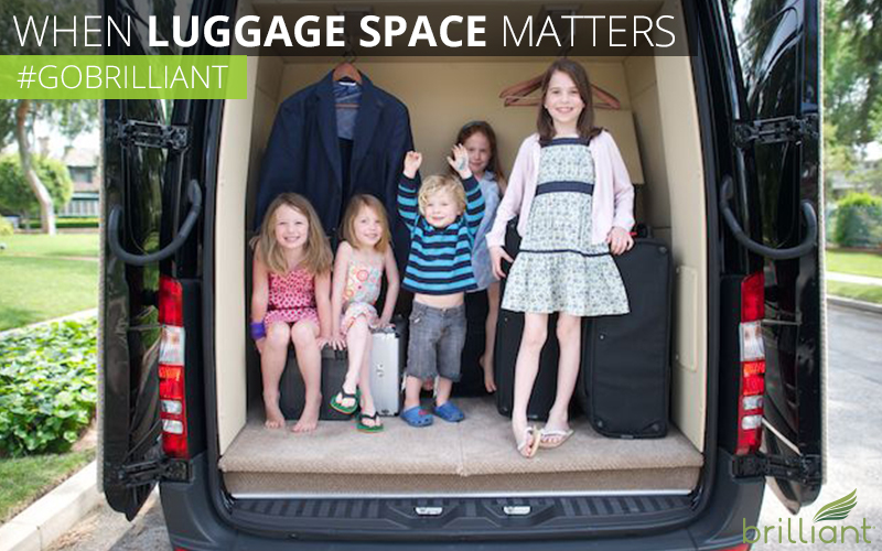 luggage space